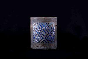 galerj-raku-doos-zwart-blauw1-8715