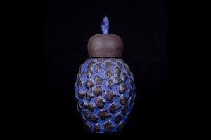 galerie-urn-ananas-zwart-blauw-8799
